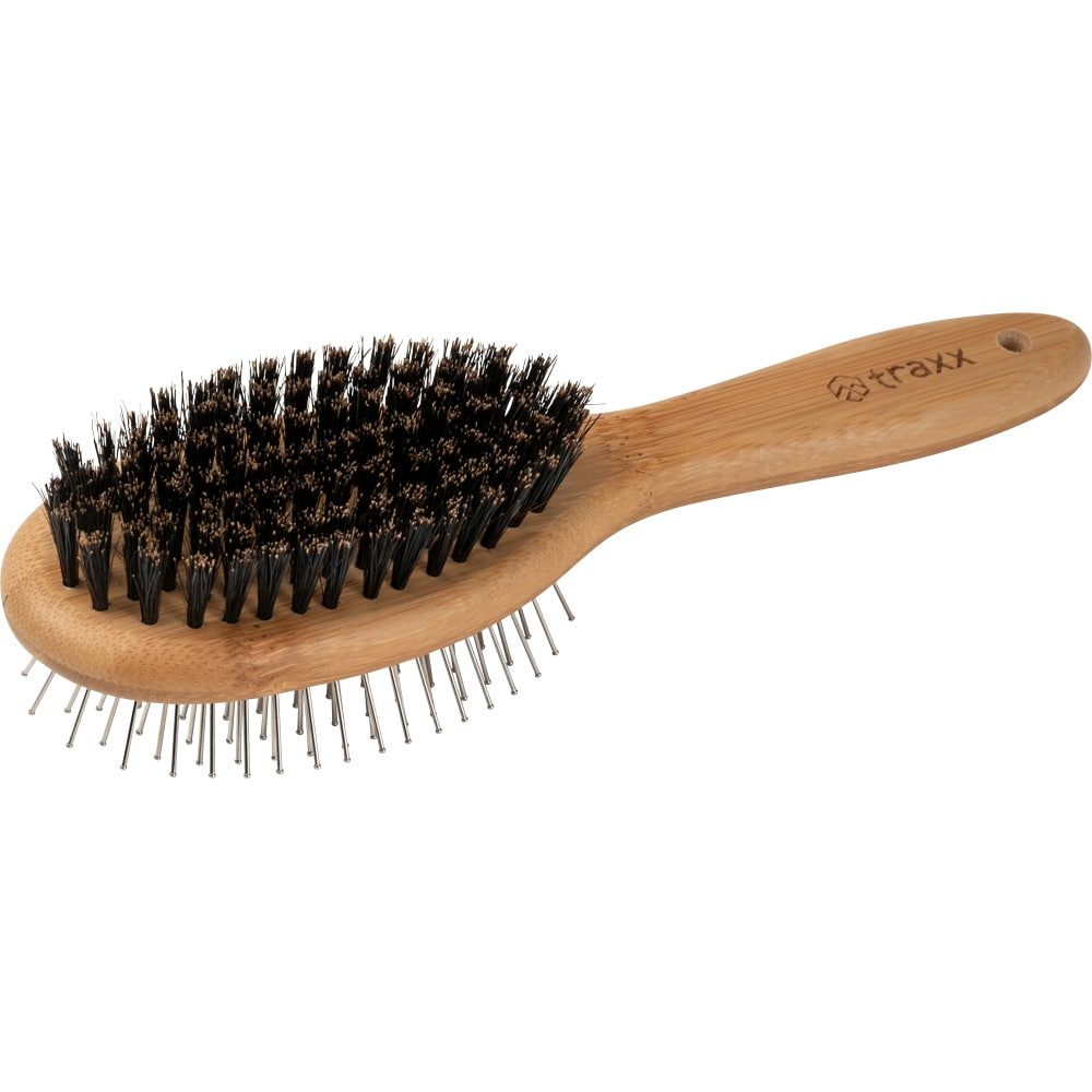 Double-sided brush Natural bristle Royal traxx®