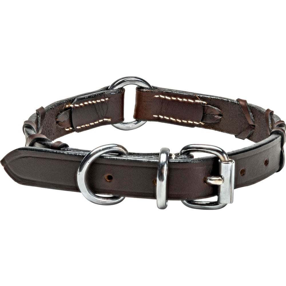 Collar Leather Latigo traxx®