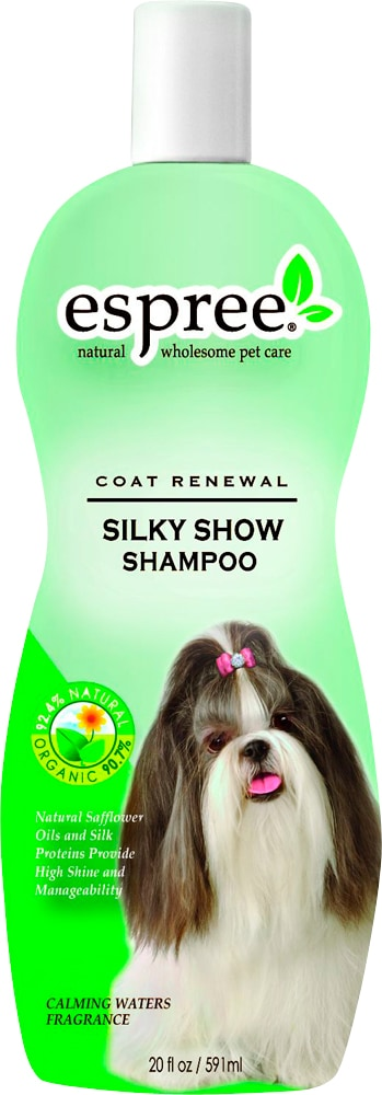 Dog shampoo  Silky Show Shampoo Espree®