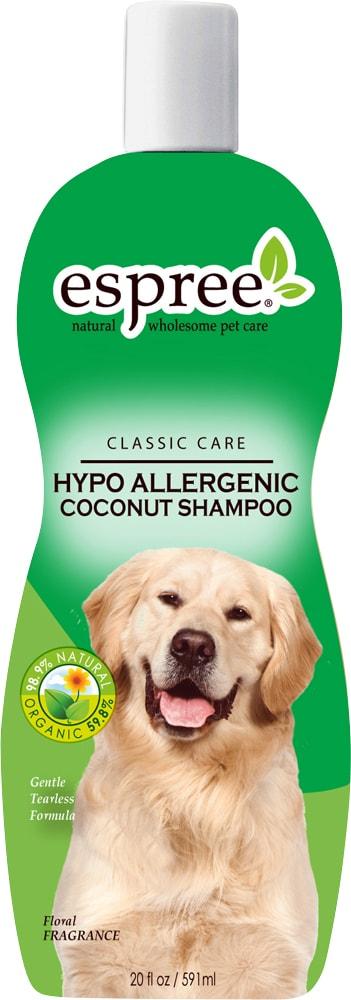 Dog shampoo  Hypo Allergenic Shampoo Espree®