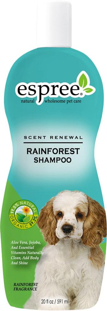 Dog shampoo  Rainforest Shampoo Espree®