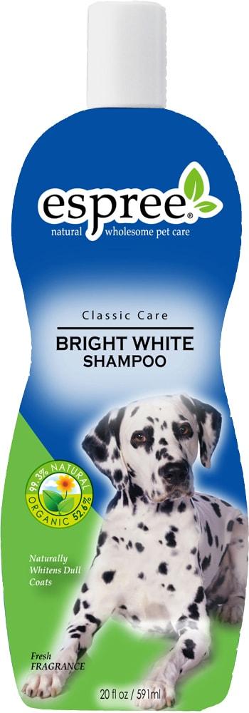 Dog shampoo  Bright White Shampoo Espree®