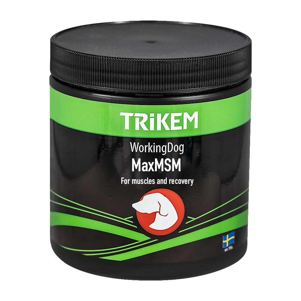 Supplements  Working Dog Max MSM + Trikem
