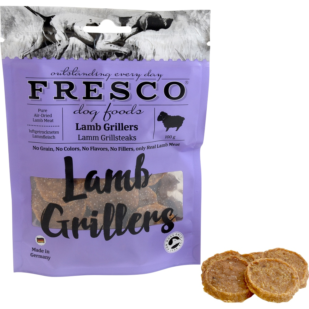 Dog treat  Lamb Grillers 100 g Fresco®