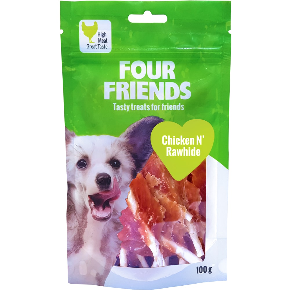 Dog treat  Chicken N´Rawhide 100 g FourFriends