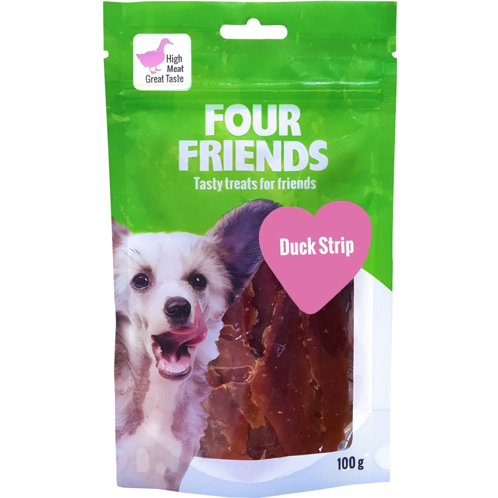 Dog treat  Duck Stripe 100 g FourFriends
