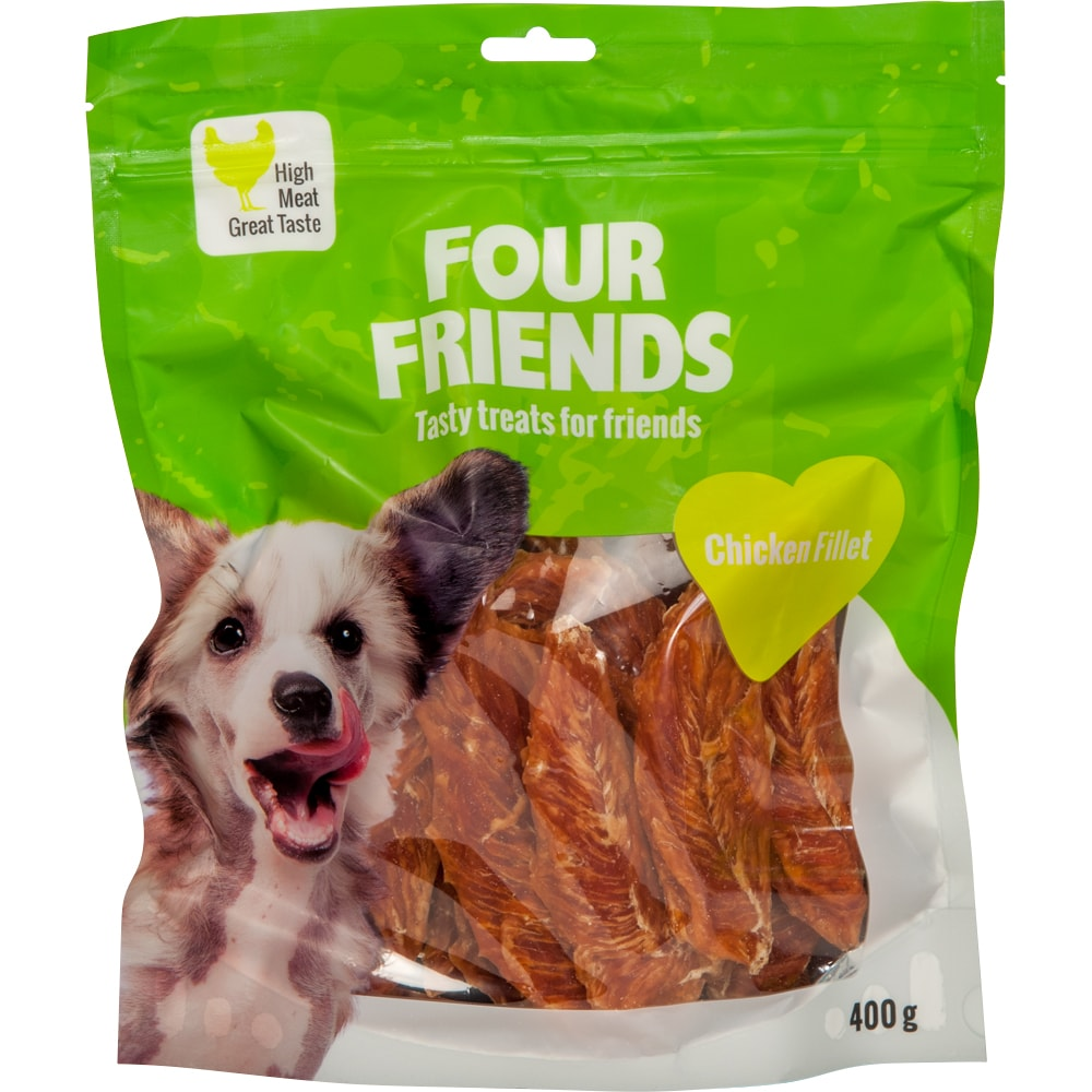Dog treat  Chicken Fillet 400 g FourFriends