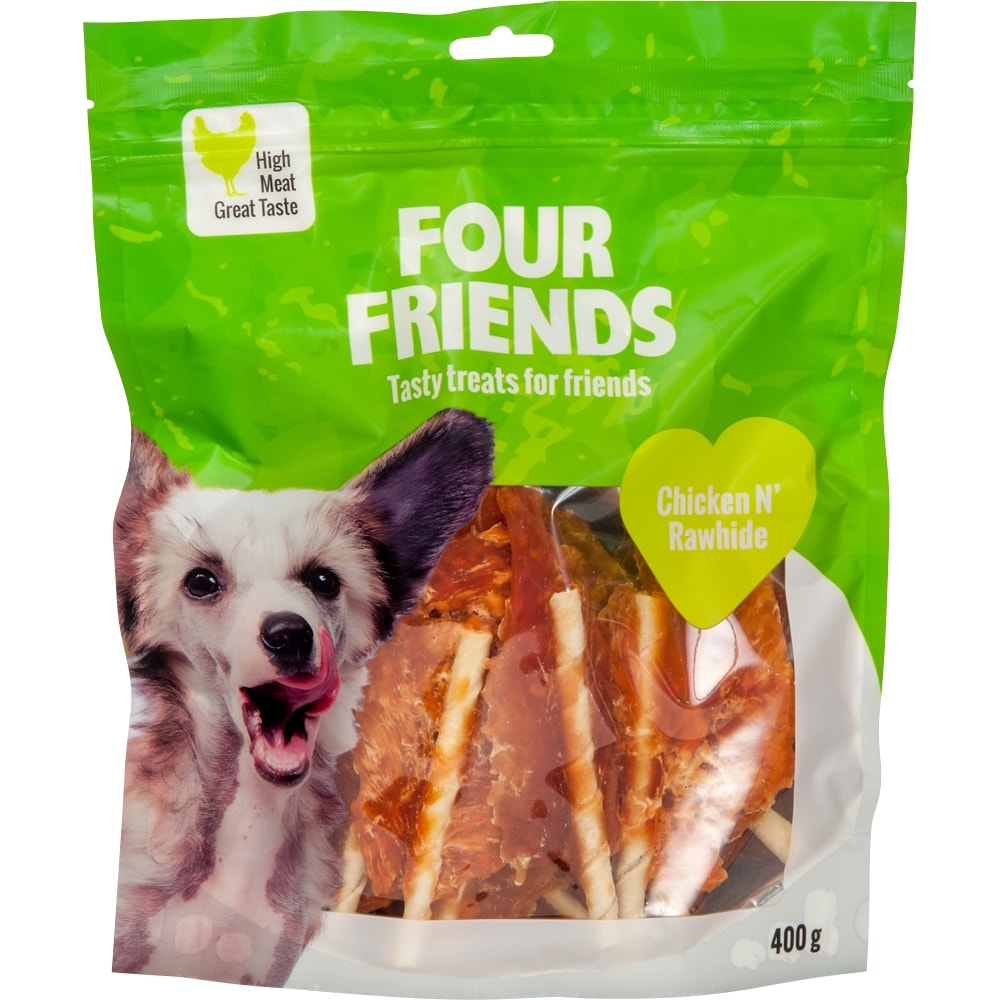 Dog treat  Chicken N´Rawhide 400 g FourFriends