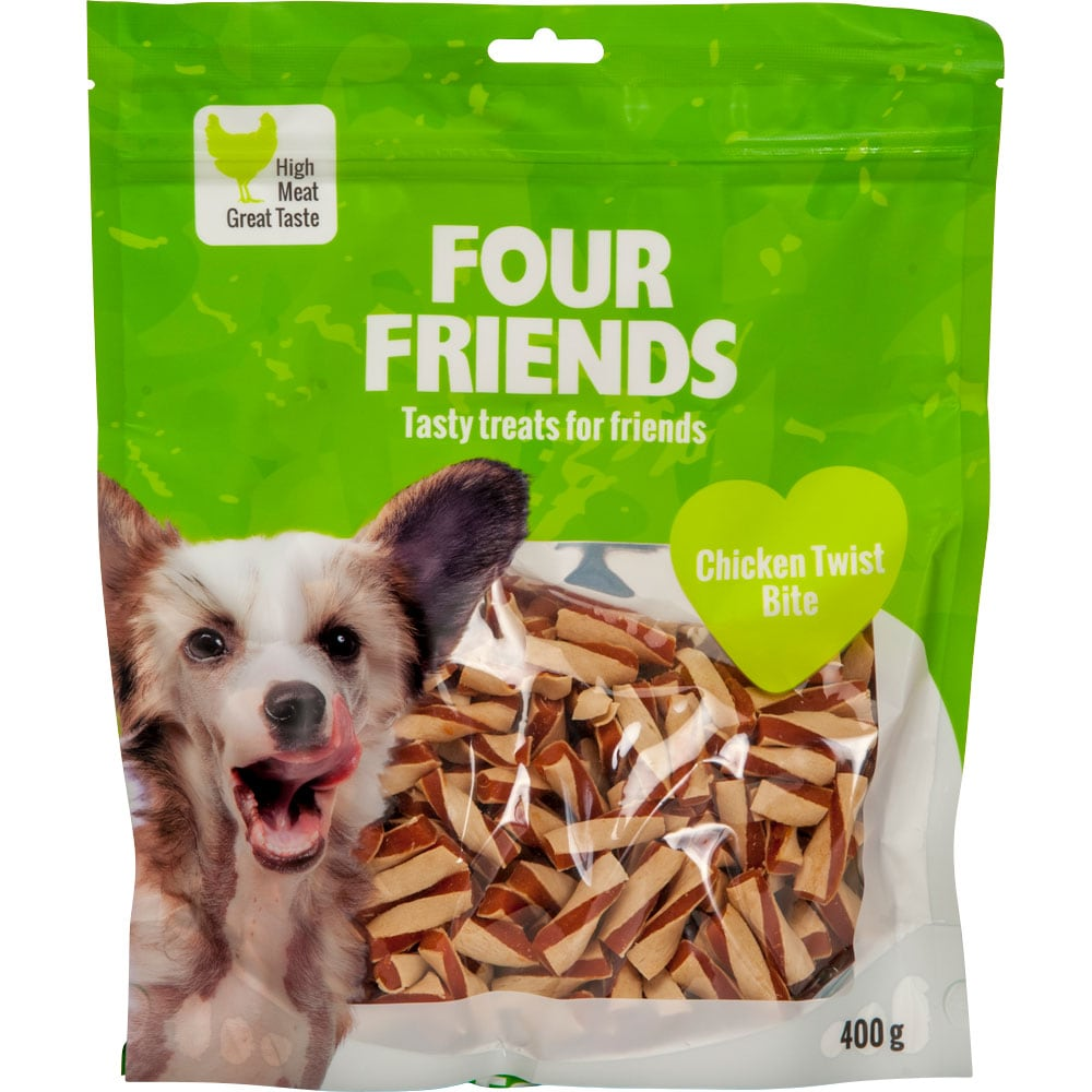 Dog treat  Chicken Twist Bite 400 g FourFriends