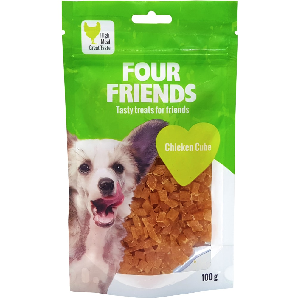 Dog treat  Chicken Cube 100 g FourFriends