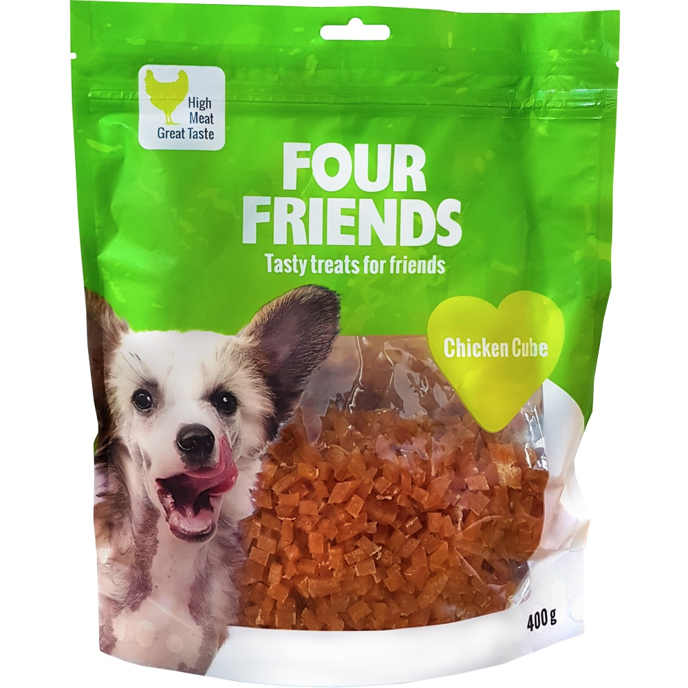 Dog treat  Chicken Cube 400 g FourFriends