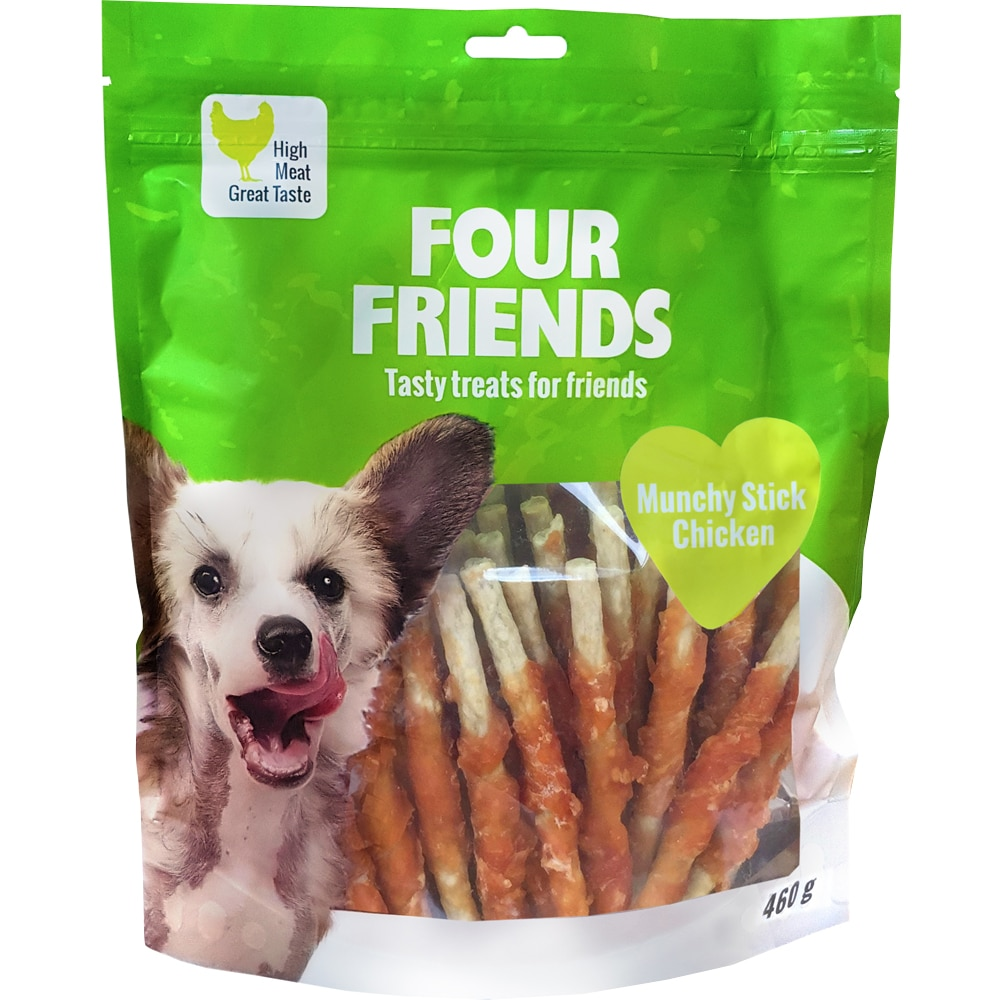 Dog chew  Munchy Stick Chicken 460g FourFriends