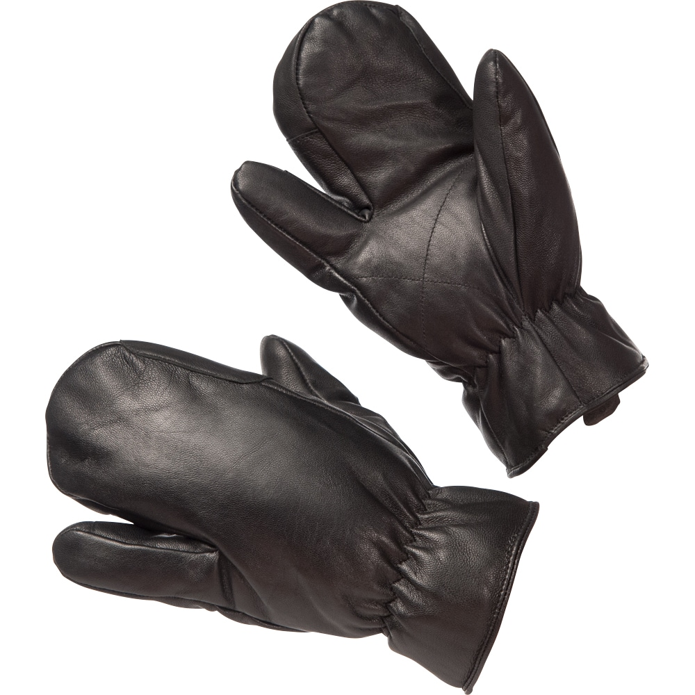 3-finger riding mittens Leather Supreme CRW®