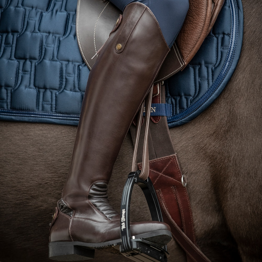 Leather riding boots  Pontone JH Collection®