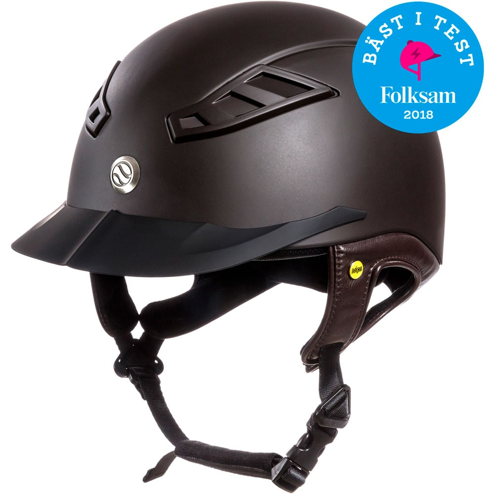 Riding helmet VG1 EQ3 Lynx Smooth Top Mips Back on Track®