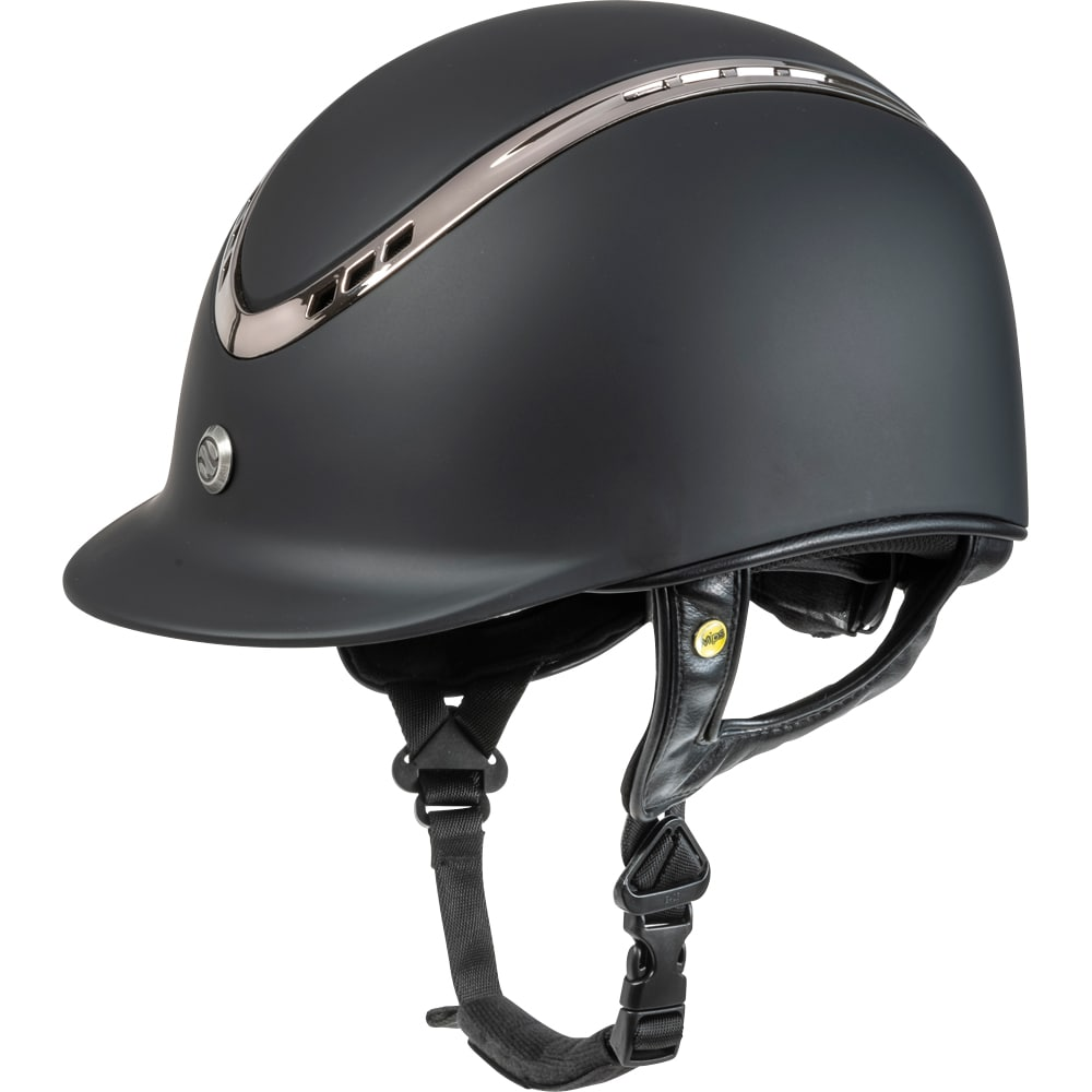 Riding helmet VG1 Pardus Smooth Top Back on Track®
