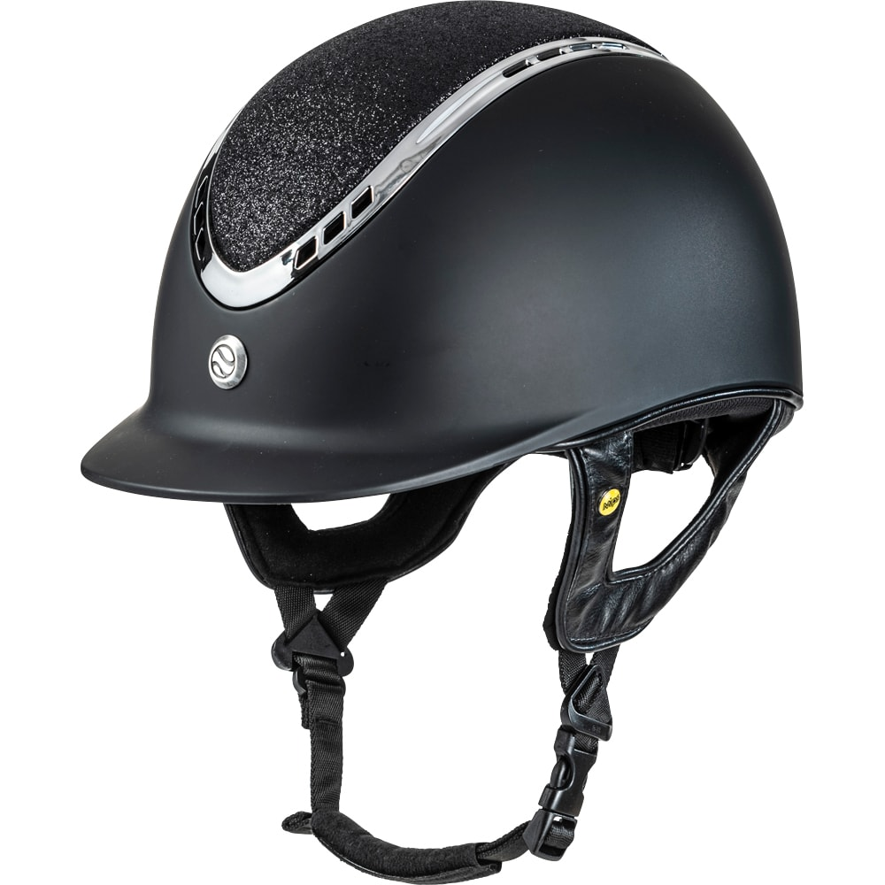 Riding helmet VG1 Pardus Smooth Top Glitter Back on Track®
