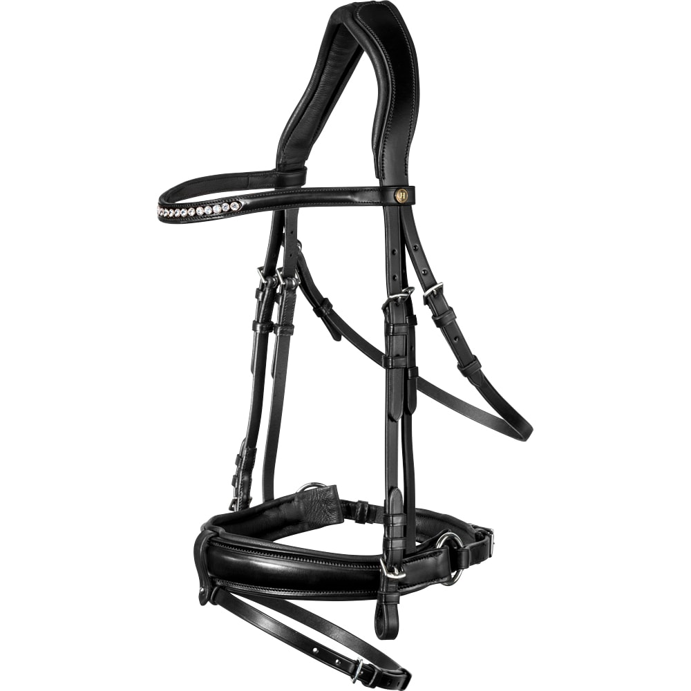 Combined noseband bridle  Fondi JH Collection®