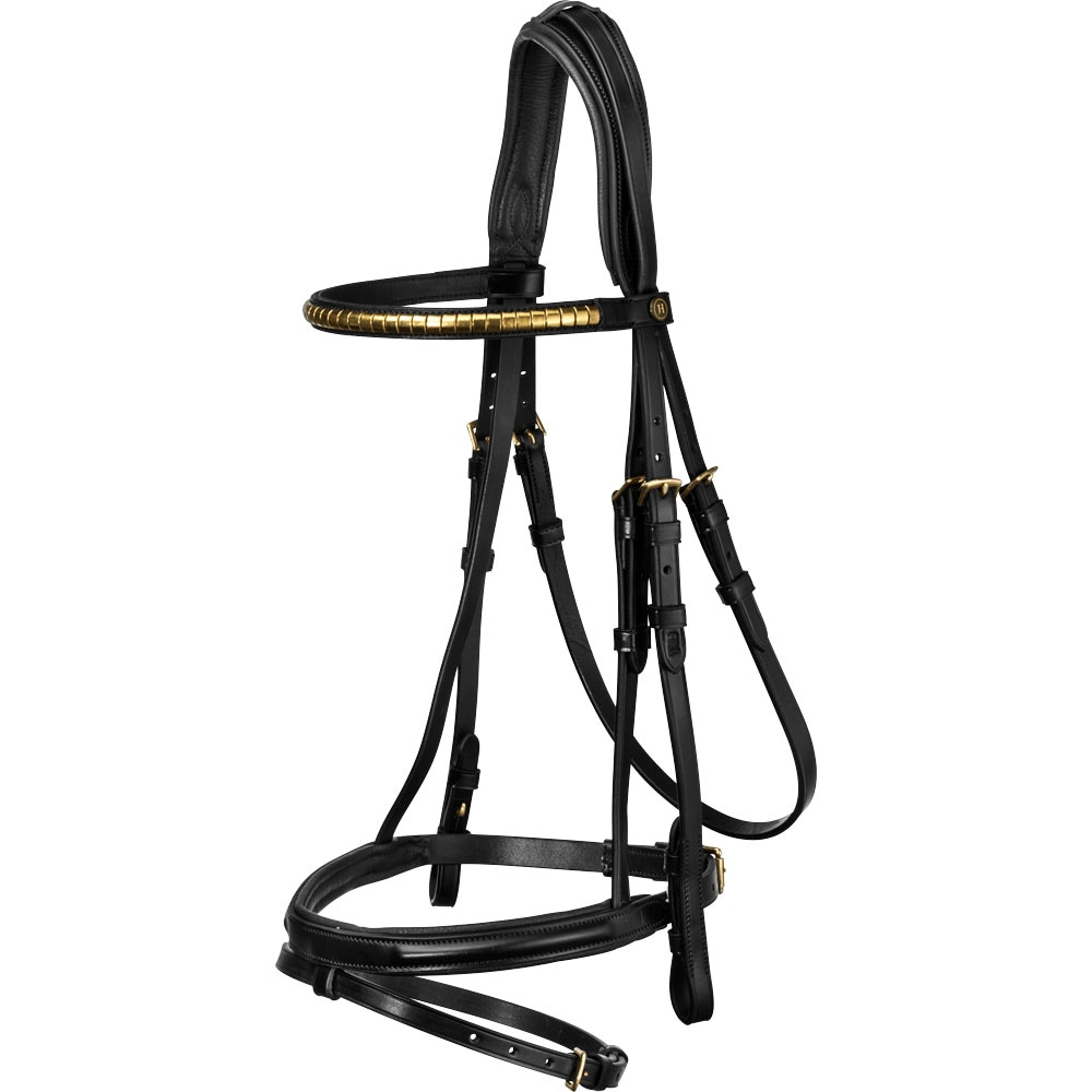 Combined noseband bridle  Cossira JH Collection®
