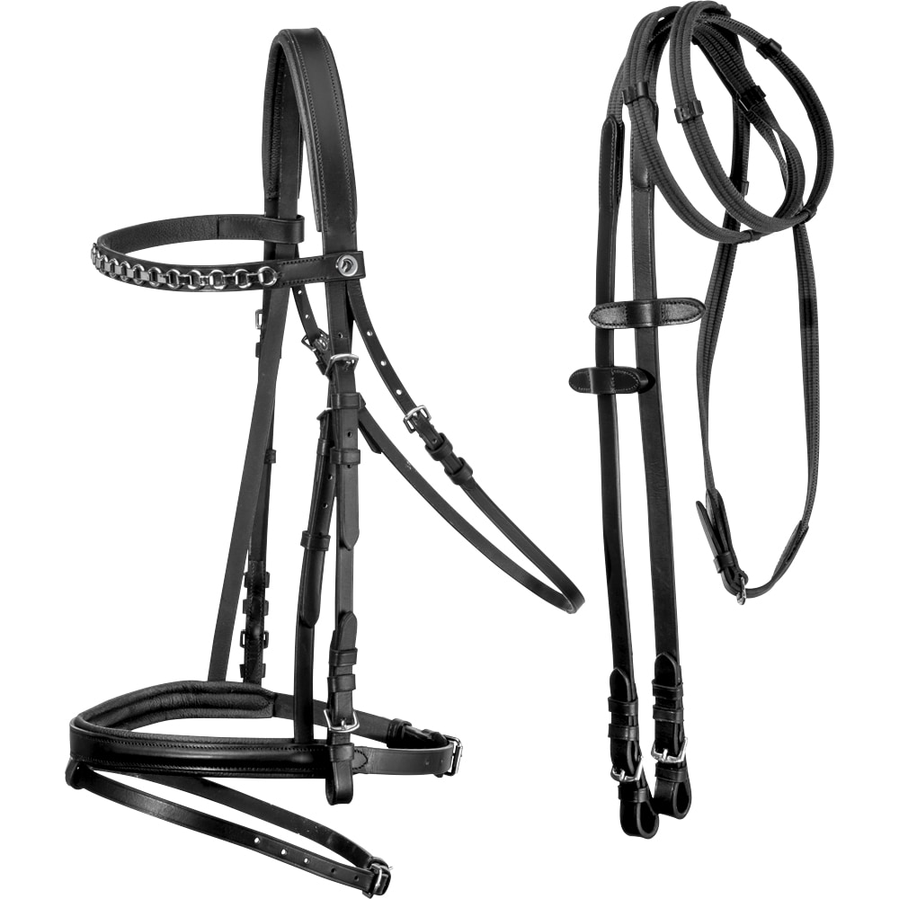 Combined noseband bridle  Lyndon Fairfield®