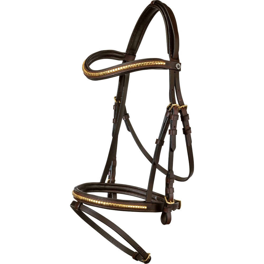Combined noseband bridle  Axford Fairfield®