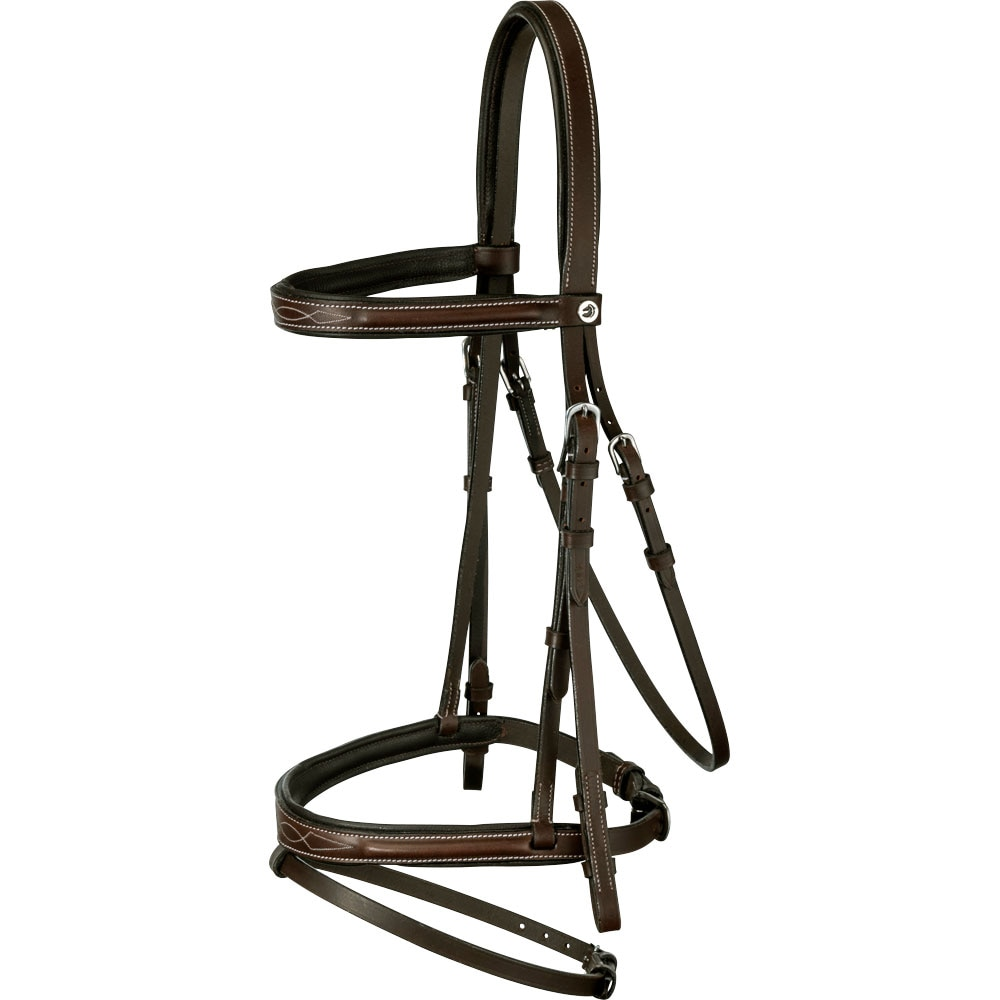 Combined noseband bridle  Galway Fairfield®