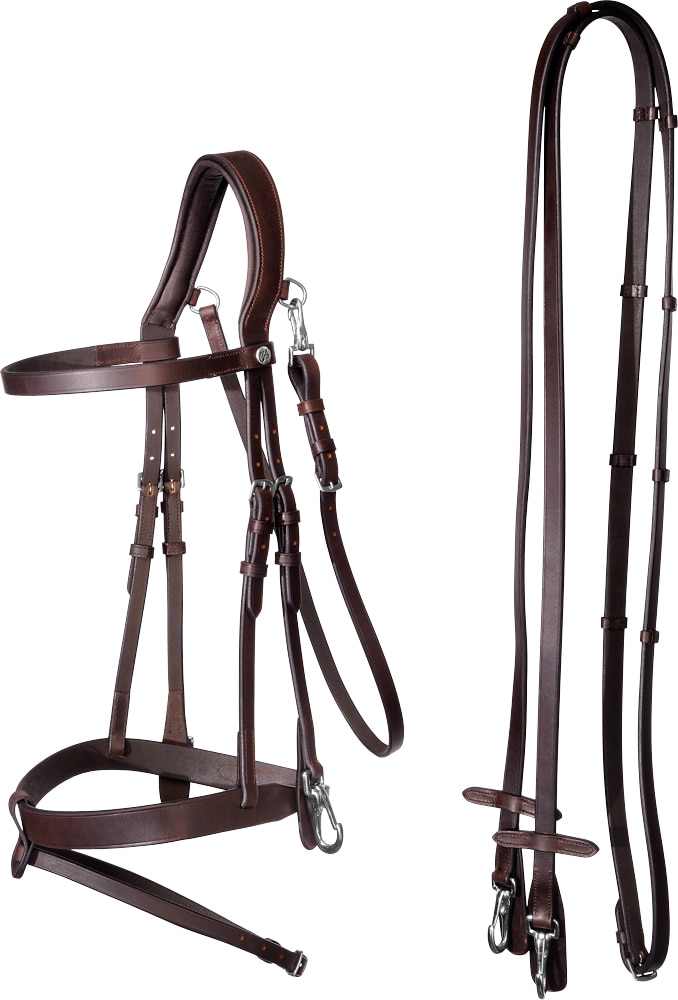 Combined noseband bridle  Hunter Fairfield®