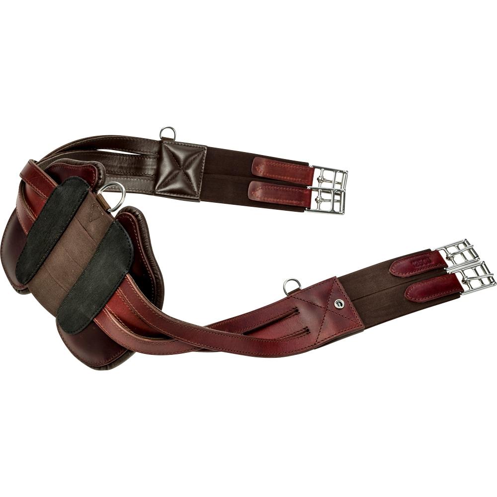 Leather girth Anatomical  Fairfield®