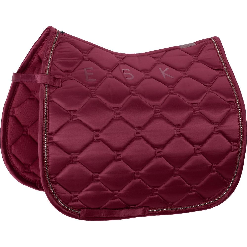 Dressage saddle blanket  Classic Mattgloss Crystal Eskadron