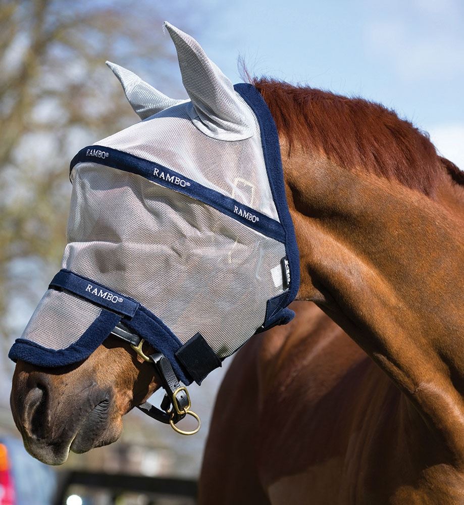 Fly hood  Rambo® Plus Horseware®