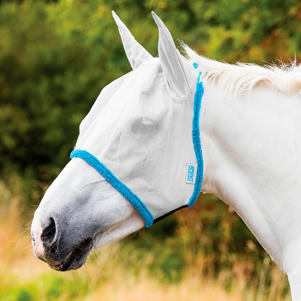 Fly hood  Amigo Fine Mesh Horseware®