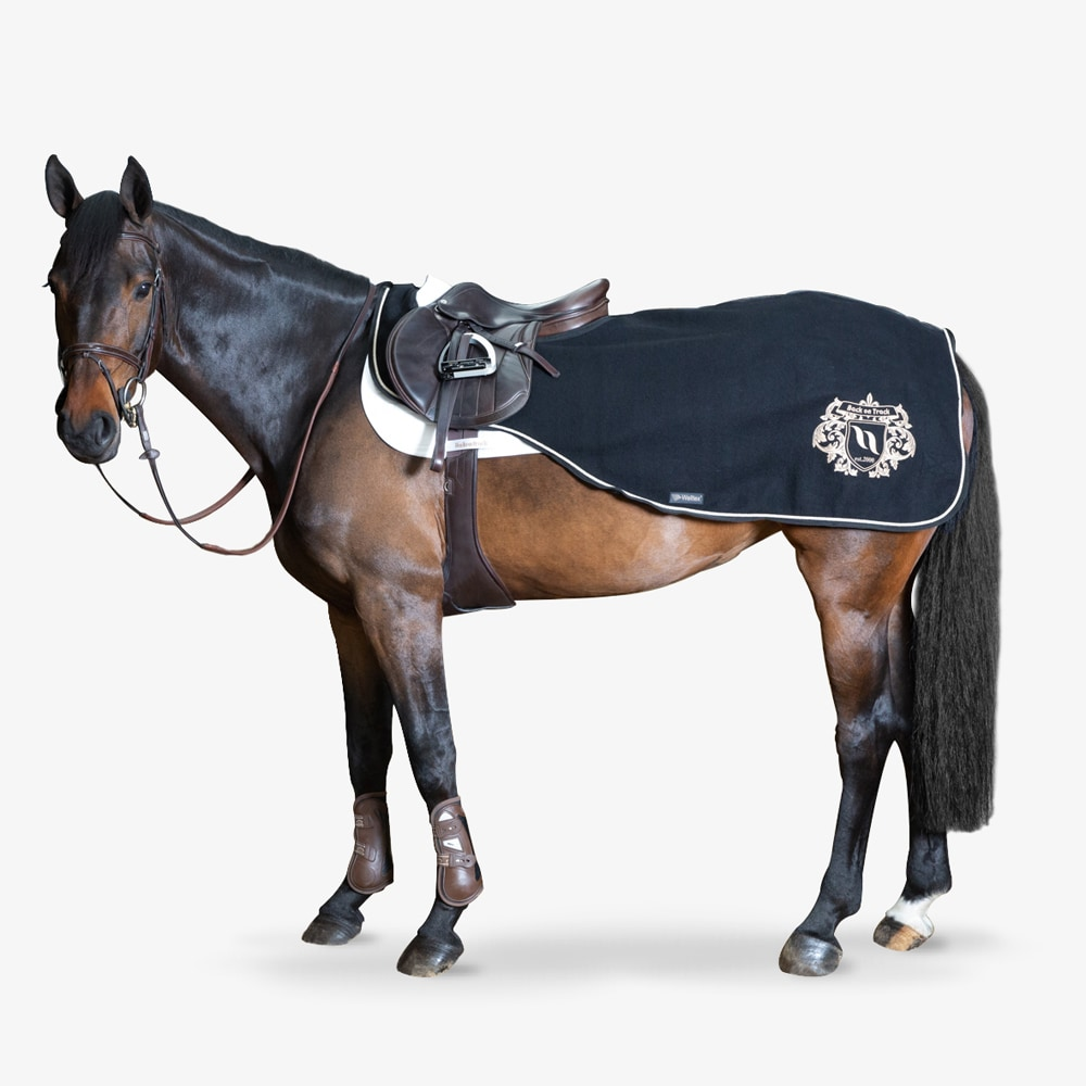 Riding rug Wool William Back on Track®
