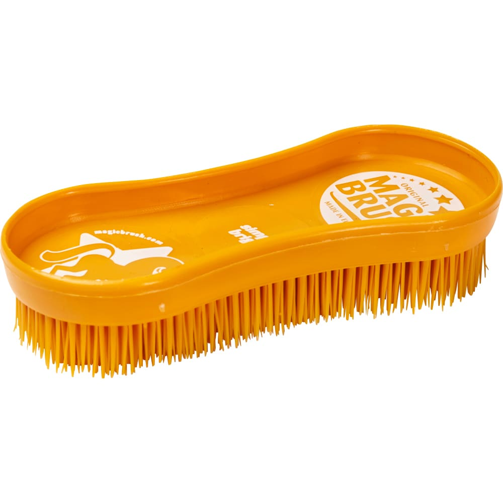 Rubber curry comb   Magic Brush