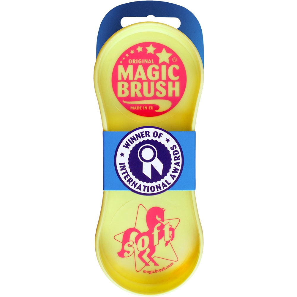 Rubber curry comb  Soft Magic Brush