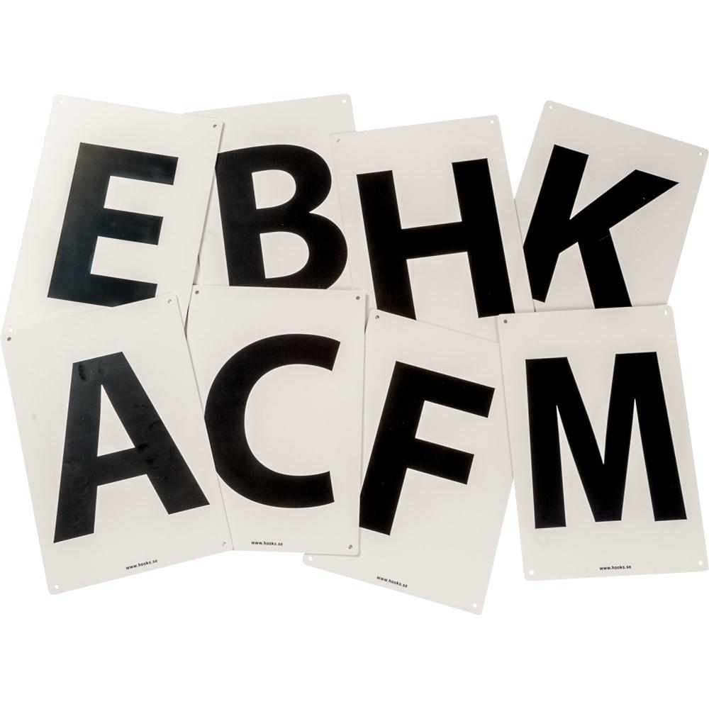 Letter markings   V-PLAST