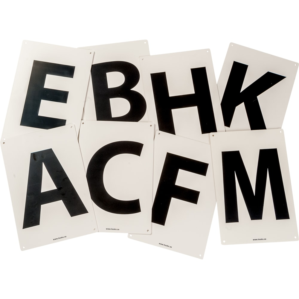 Letter markings   *NY* g6