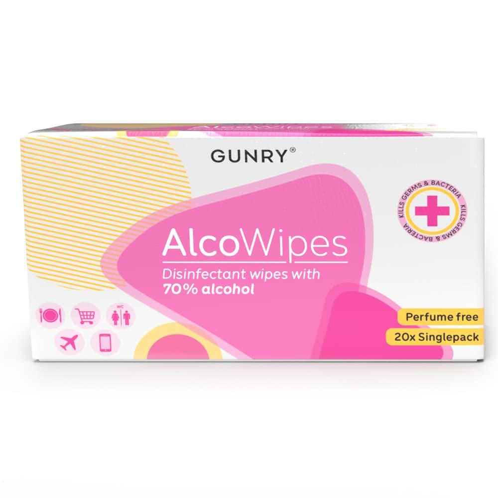 Wet wipe  Alcowipes Gunry