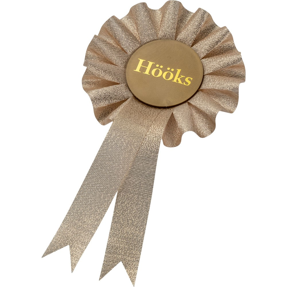 Prize rosette Hobby horse Sparkling Hööks